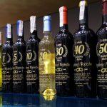 butelki wina grawerowane